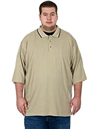 Men's Big & Tall Short and Long Sleeve Polo Shirts in 20 Colors