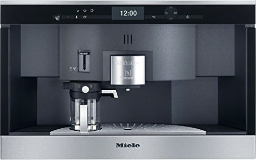 Miele CVA 6431 Einbau-Kaffeevollautomat (mit Nespresso System, 35-er Nische) edelstahl