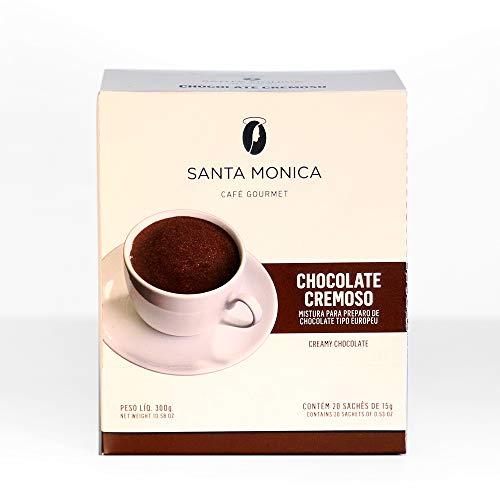 Chocolate Europeu Monodose Cafe Santa Monica com 20 Unidades