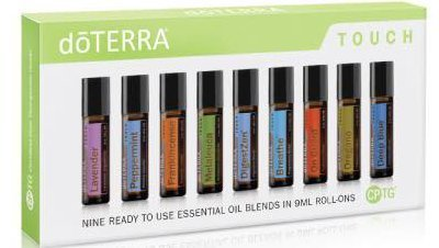 doTERRA Touch - 9 Ready to use Essential Oil Blends in 9 ml Roll-Ons