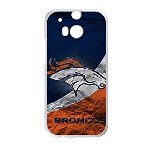 SHEP Broncos Fashion Comstom Plastic case cover For HTC One M8
