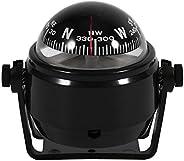 Estink Car Mount Compass,Multi-Functional Sea Marine Navigation Bracket Mount Compass Voyager Compass Outside