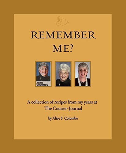 Remember Me? Cookbook