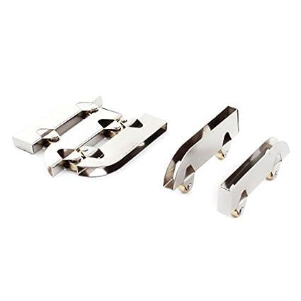 5 piezas de 7 mm Diámetro de la rueda Armario Armario correderas de rodillos para puerta de cristal - - Amazon.com