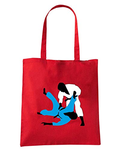 Speed Shirt Borsa Shopper Rossa TBOXE0107 JUDO A 3C
