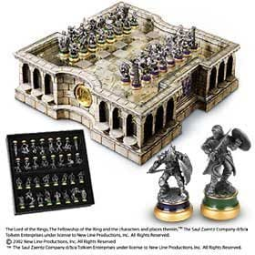 The Lord Of The Rings Collector 39 S Chess Set