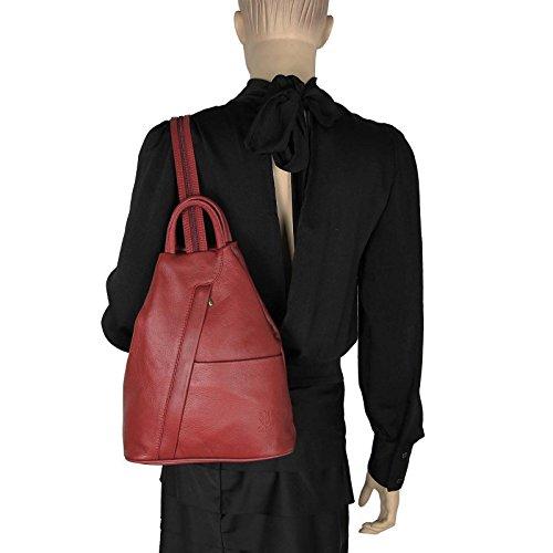 Only Main 25x30x11 Marron porté Sac Foncé Couture ca pour Dos Rouge Beautiful au Noir Femme Noir BxHxT à OBC cm RxXZwqdRO