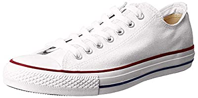 Converse Chuck Taylor All Star OX Shoe - Women's Optical White, 8.5