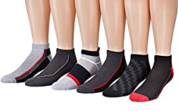 James Fiallo Mens 12-Pack Low Cut Athletic Socks, Size 10-13 Fits shoe 6-12, 2893-12
