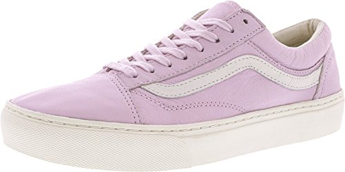 Skate Skool Classic Leather Vans Old Unisex Lilac Shoes Snow nIHawqSO