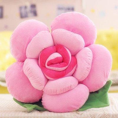 Cengbao rosa grandi cuscini cuscino creativo la celebrazione dei matrimoni fidanzata regalo di compleanno, rosa, 40 cm (foglie)