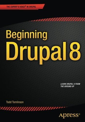 Book cover from Beginning Drupal 8 by Todd Tomlinson (2015-09-04) by Todd Tomlinson