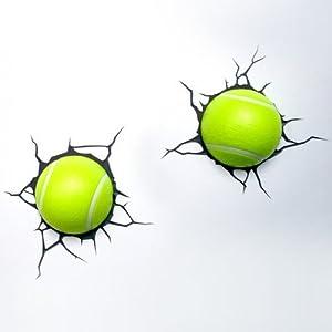 Tennis Ball 3D LED Wall Lights