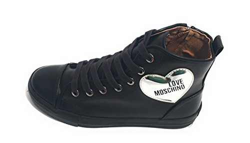 Pour Femme Love Moschino Noir Baskets p0wqpERBx