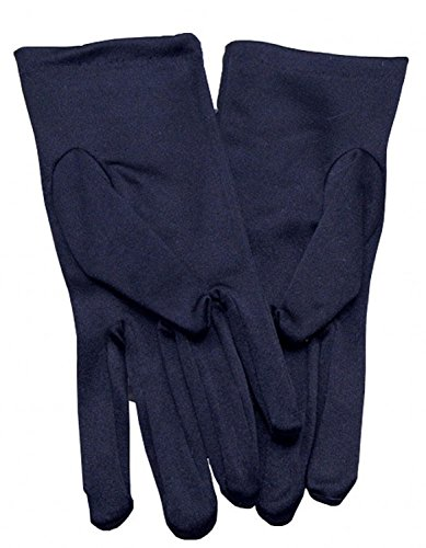 Miranda's Bridal Women's Wrist Length Formal Satin Gloves Navy Blue]()