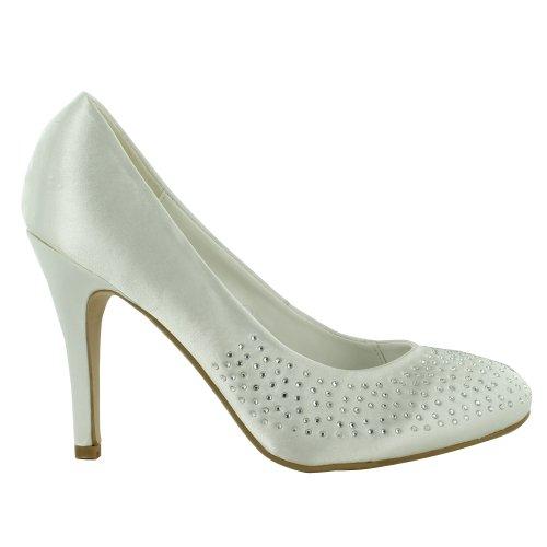 Footwear Sensation - Sandalias de vestir para mujer blanco - blanco