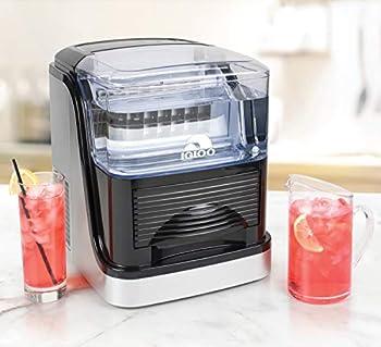 Igloo ICEC33SB 33 lb. Large Capacity Clear Ice Cube Maker