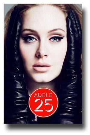 Adele Poster - Promo Forr 25 Round Logo