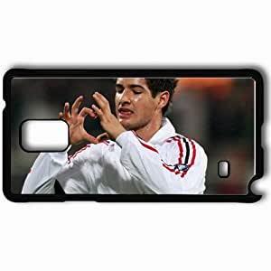 Personalized Samsung Note 4 Cell phone Case/Cover Skin Apato Alexandre Pato AC Milan Football Black WANGJING JINDA