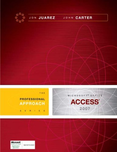 Download Microsoft Access 2007: A Professional Approach Pdf