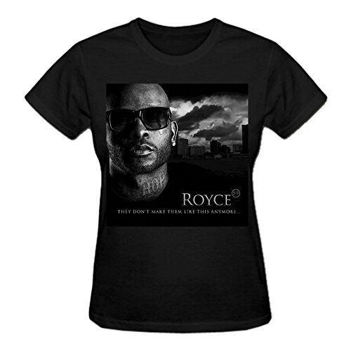 Abover Royce Da 59 They Don't Make Them Like This Anymore Printed T Shirts For Women Crew Neck Black