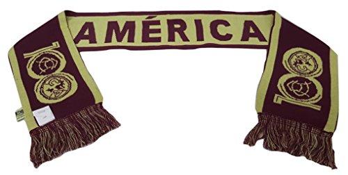 CA Club America Reversible Winter Knit Woven Scarf - America Scarf