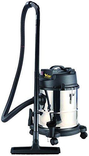 Vigor Vba-20L Aspirateur bidon en acier inoxydable 1200 W