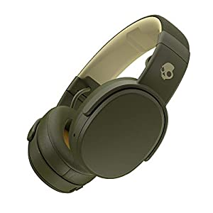 Skullcandy Crusher Wireless Over-Ear Headphone with Mic (Moss/Olive/Yellow)