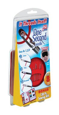 ONE SECOND NEEDLE plus Bonus Sewing As Seen on TV -- Ontel Products Corp