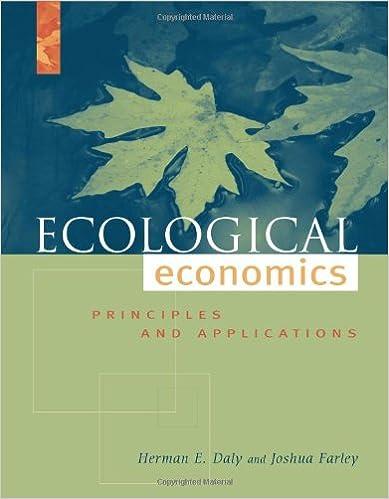 Ecological Economics Book