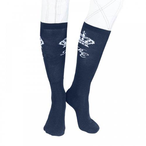 Horze Knee Socks Black
