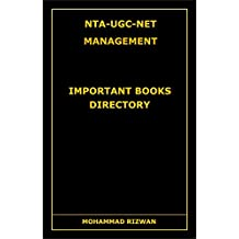 NTA-UGC-NET MANAGEMENT: Important Books Directory