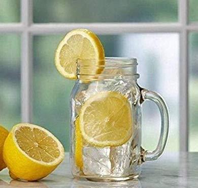 2 Ball Glass Mason Drinking Jars with 2 Sip and Straw Lids (2, 24oz Mug) by Ball (Image #3)
