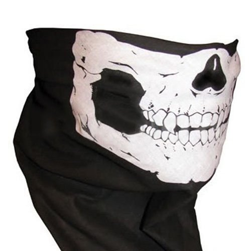 Bandana Novel Skull Bike Motorcycle Helmet Neck Face Mask Paintball Ski Headband by 2Bshop