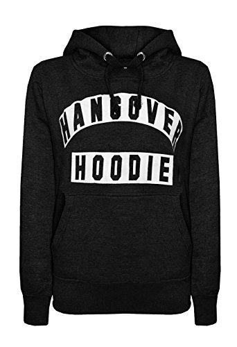 Womens HANGOVER Drawstring Sleeves Sweatshirt product image
