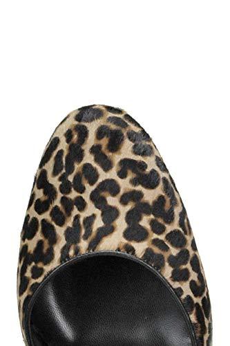 Luciano Padovan Mujer Zapatos Cuero Mcglcat000004037i Beige negro De Tacón aar1wq