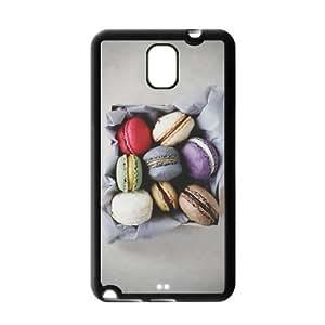 Fashion Custom Dessert Marcaron Durable Protection Hard Cover Case For Samsung Galaxy Note 3 III TPU