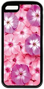 Pink And Purple Flower Theme Iphone 5C Case
