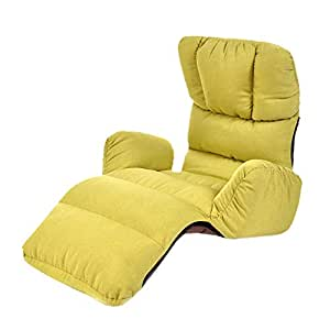 Amazon.com: QARYYQ Lazy Couch Single Chair Tatami Small Sofa ...