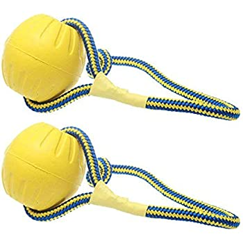 Pet Supplies : Dog Ball on Rope Thrower Launcher Fetch