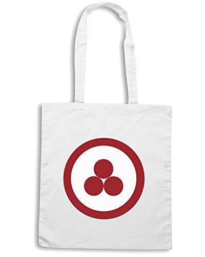 T-Shirtshock - Bolsa para la compra TM0221 peace flag flag Blanco