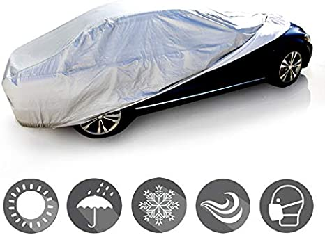 AUDI TT COUPE PREMIUM HEAVY DUT FULLY WATERPROOF CAR COVER COTTON LINED LUXURY
