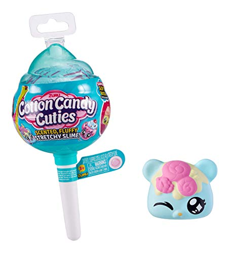 Squishy Stretchy Slime with Collectible Cutie Oosh Cotton Candy Cuties Scented