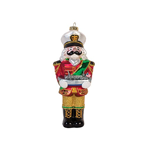 Fitz and Floyd Christmas Nutcracker with Pt Boat Ornament, ()