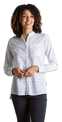 ExOfficio Women's BugsAway Collette LS Shirt, White, -