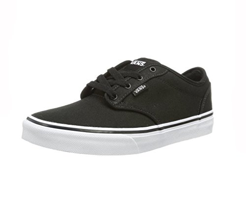 Shoes Women's Sneakers Atwood Vans Fashion Black White 0F8qw
