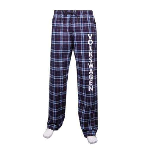 (Genuine Volkswagen Dorm Room Flannel Pants - Size 2XL )