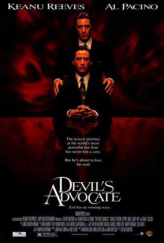 (27x40) Devil's Advocate Movie Al Pacino Keanu Reeves Original Poster Print