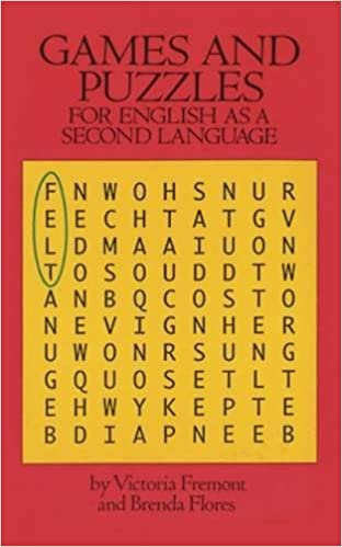 Games And Puzzles For English As A Second Language Dover Guides Victoria Fremont Brenda Flores 0800759284689 Amazon Books