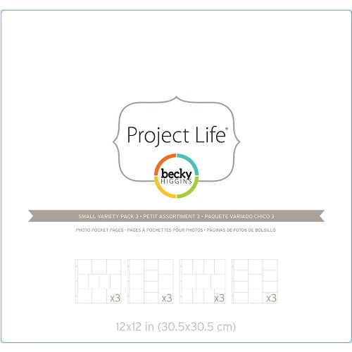 American Crafts Project Life photo Pocket pagine,, 0.63  x 29.21  x 34.29  cm 0.63 x 29.21 x 34.29 cm 380260